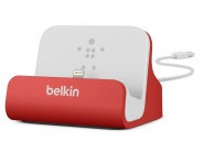Belkin Charge + Sync Dock Red док-станция для iPhone