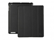Jison Smart Leather Case Black чехол для iPad 2/3/4