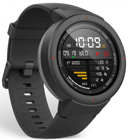 Спортивные часы Xiaomi Huami AMAZFIT Verge (Shadow Grey)