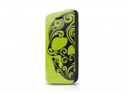 Чехол Itskins Angel для iPhone 5C (Green/Grey)