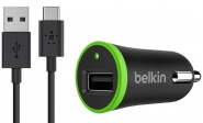 Belkin Universal Car Charger F7U002bt06-BLK (Black)