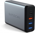 Сетевая зарядка Satechi Travel Charger ST-MCTCAM 75W (Space Gray)