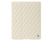 Jison Quilted Leather Cover White чехол для iPad Air
