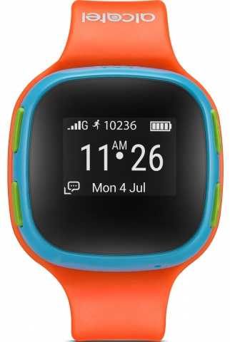 Умные часы детские Alcatel Movetime Kids SW10 (Orange/Blue)