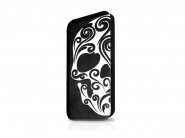 Чехол Itskins Angel для iPhone 5C (Black/White)