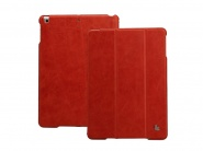 Jison Vintage Leather Smart Case Red чехол для iPad Air