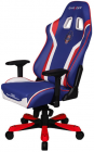 Компьютерное кресло DXRacer King Special Editions USA OH/KS186/IWR/USA3 (Indigo/White/Red)