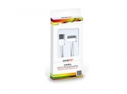 Onext USB - 30-pin.White кабель для iPhone 4/4s 1м