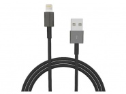 Henca Lightning to USB Cable Black 2m кабель для iPhone/iPad
