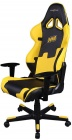 Компьютерное кресло DXRacer Special Edition OH/RE21/NY/NAVI (Black/Yellow)