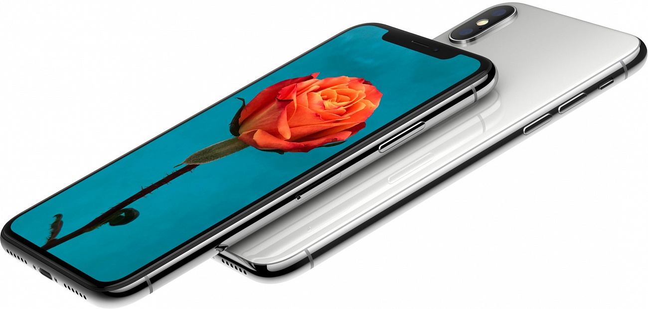 Смартфон Apple iPhone X 64Gb (Silver)