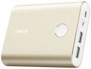 Аккумулятор Anker PowerCore+ A1316HB1 (Gold) 13400 мАч