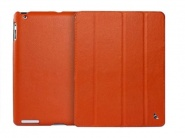 Jison Smart Leather Case Orange чехол для iPad 2/3/4