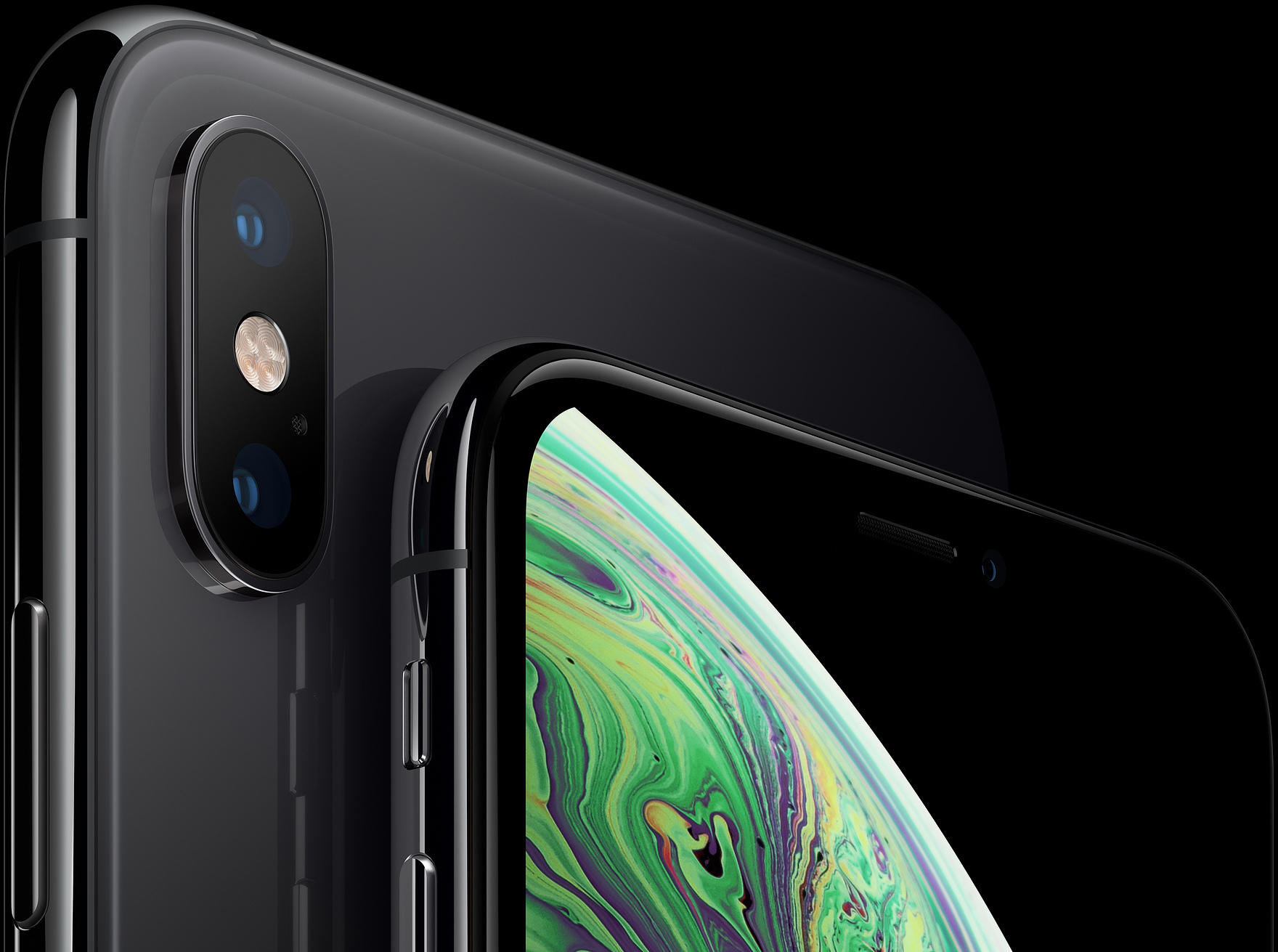 Смартфон Apple iPhone Xs Max 64Gb MT502RU/A (Space Gray)