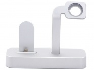 Док-станция COTEetCI Base Dock для Apple iPhone и Apple Watch (Silver)