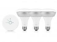 Умные лампы Philips Hue Connected Bulb BR30 Starter Pack управление iPhone/iPad