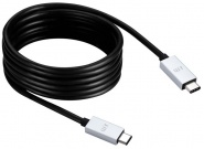 Кабель Just Mobile AluCable (DC-368) USB-C to USB-C (Black)