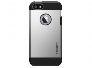 Чехол SGP Tough Armor для iPhone 5/5s/SE (Satin Silver)