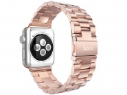 Ремешок Hoco Grand Series Slimfit Steel Watchband для Apple Watch 42 mm (Rose Gold)