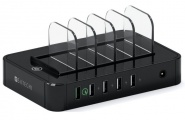 Док-станция Satechi 5-Port USB Charging Station B0170L322E (Black)
