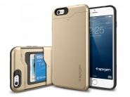 Чехол SGP Slim Armor CS для iPhone 6 Plus/6s Plus (Champagne Gold)
