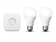 Умная лампа Philips 455287 Hue White A19 Starter Kit