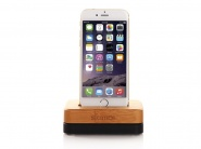 Док-станция Samdi Charger Dock для Apple iPhone (Wood/Black)