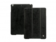 Jison Vintage Leather Smart Case Black чехол для iPad Air