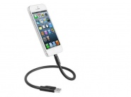Кабель-подставка Henca Lightning to USB Cable Gooseneck (Black)
